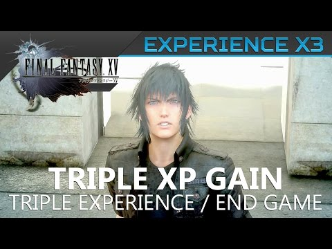 Final Fantasy XV - How to triple your XP (x1.5 and x3 rates) Location Guide