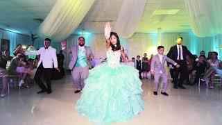 quinceaera surprise dance with a ferrari tatyana