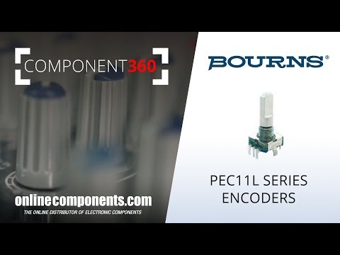 Component 360: Bourns PEC11L Series Audio Encoders