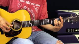 How To Play -  Lay Low by Josh Turner - Guitar Lesson - EASY Chord Version
