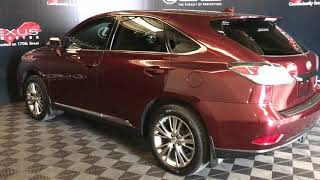Red 2014 Lexus RX 350 Touring Package Review Edmonton Alberta - Lexus of Edmonton