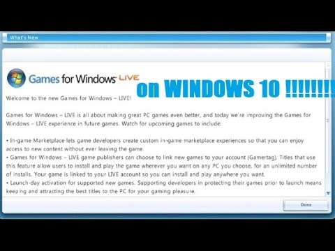 Windows 10 Games For Windows Live With Steam Gfwl 2017