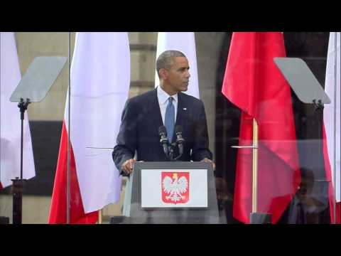 A Varsovie, Obama accable Poutine