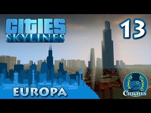 Cities Skylines - Europa - Nueva Autopista y Metro #13 en español