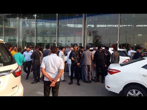 Shri Mulayam Singh Yadav Arrival Airport Chaudhary Charan Singh Airport Lucknow Live
