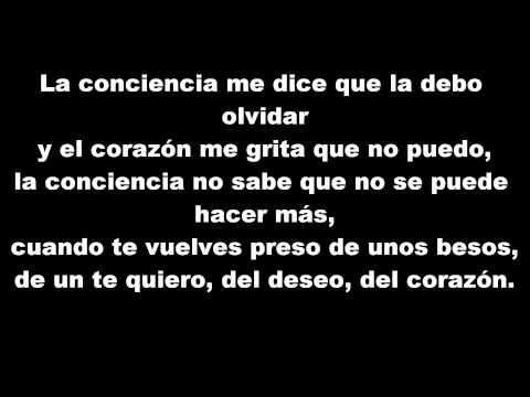 Gilberto Santa Rosa - la conciencia ( letra )