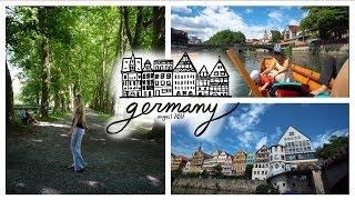 BOAT DAY IN TÜBINGEN GERMANY!