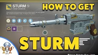 Destiny 2 Sturm Exotic Quest - How to get the Sturm Hand Cannon