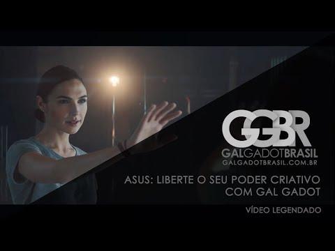 ASUS: Liberte o seu poder criativo com Gal Gadot [HD] (Legendado)