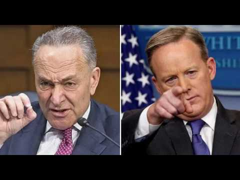 Have You Heard? Chuck Schumer is FREAKING OUT About What Sean Spicer Just Revealed