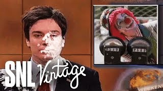 Weekend Update: Jimmy Fallon Gets a Pie in the Face - SNL