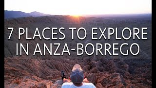 7 Places to Explore in Anza-Borrego Desert State Park