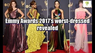 Emmy Awards 2017's worst-dressed revealed
