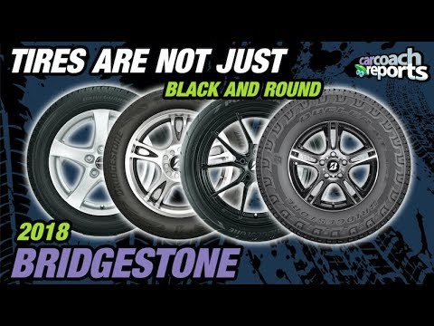 Tires are Not Just Black & Round - 2018 Bridgestone Tires