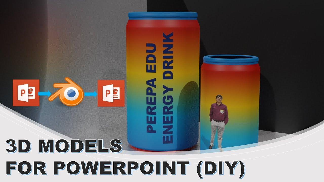 Blender 3D + PowerPoint - 3D Madness
