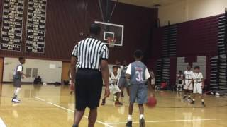 7/29/17 - Jr Titans vs Virginia Battle - Coach Hebron - Marvin & Joel Guthrie