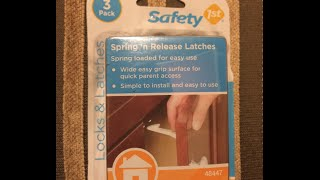 Child Safety Locks and Latches