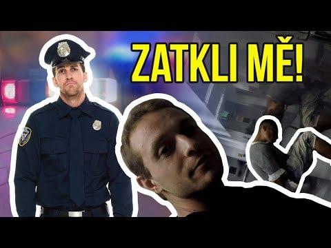 12 HODIN v AMERICKÉM VĚZENÍ | Michal ZATČEN LAPD! - Otřesný zážitek