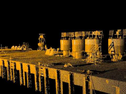 Laser scanning with qinsy