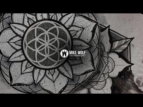 Mike Wolf - Watercolor Mandala