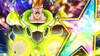 A Beast For Extreme Z-area 100 Rainbow Star Super Strike Android 16 Dbz Dokkan Battle