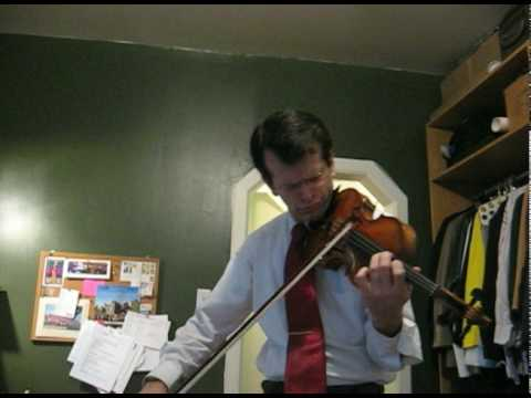Paganini Caprice #21 - William Harvey, violin
