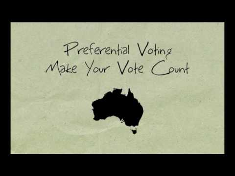 Preferential Voting  -  Make Your Vote Count