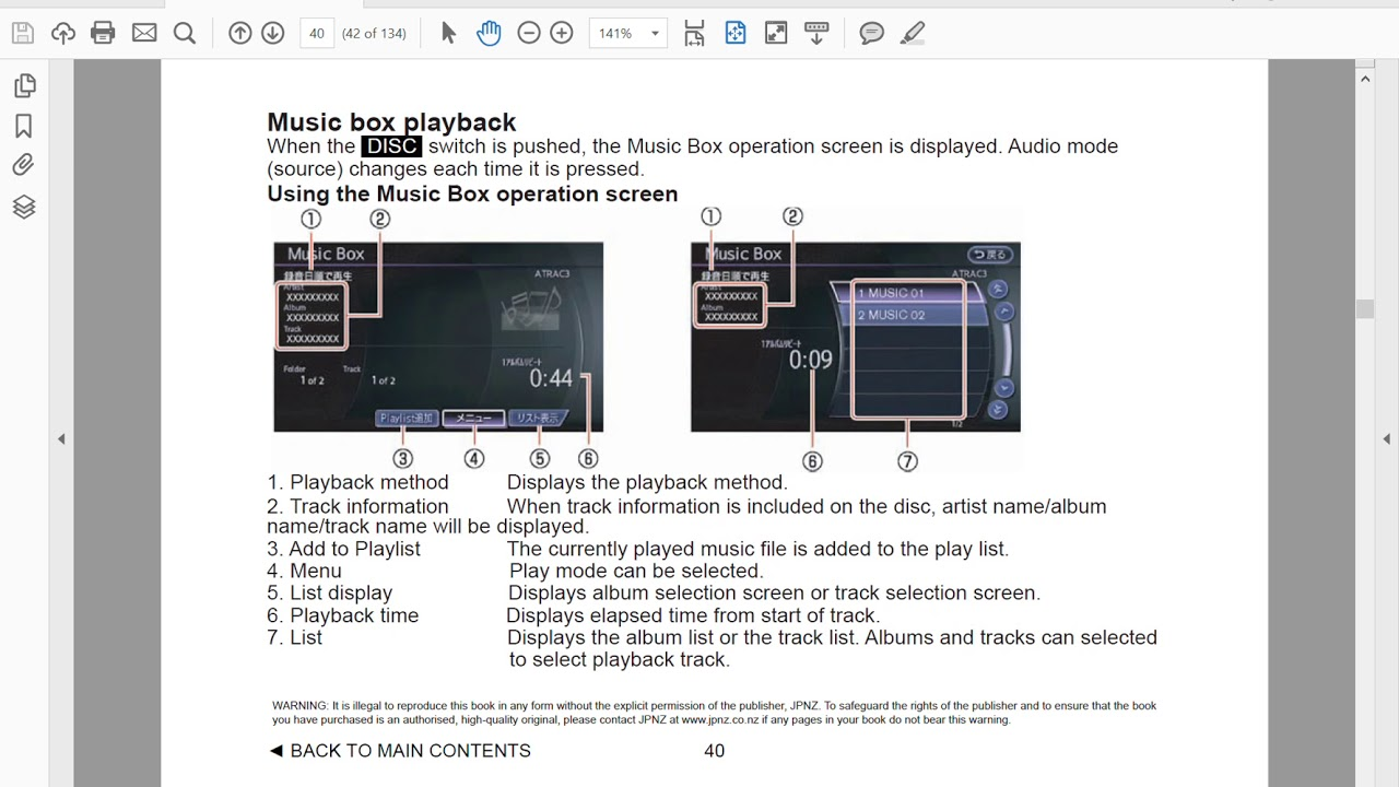 Nissan Elgrand E51 Owners Manual Pdf Fuse Box 2002 2010 Workshop