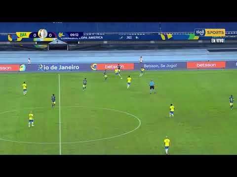 GOL DE COLOMBIA - CHILENA DE LUIS DIAZ COLOMBIA 1 BRASIL 0