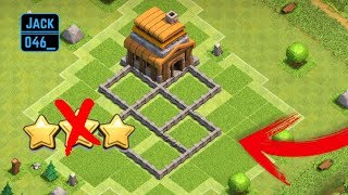 Clash Of Clans TH4 Anti 1 Star Base *WITH* REPLAYS! (Clash Of Clans Defence)