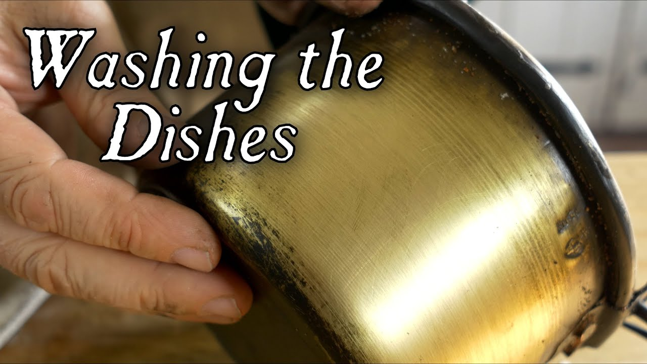 Washing Dishes in the 18th Century - YouTube