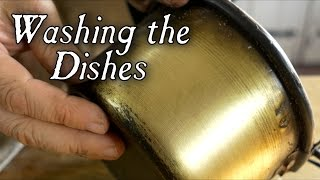 Washing Dishes In The 18th Century