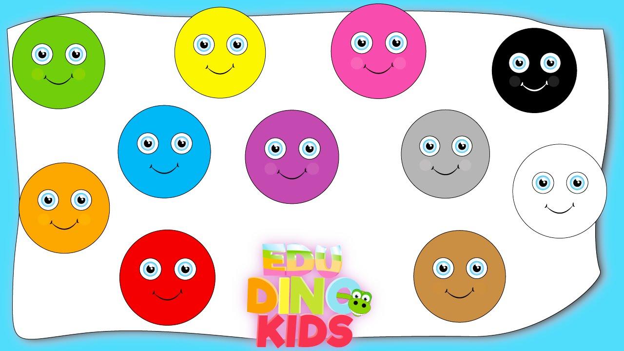 Colors preschool songs - Color Songs Learn Colors Colors Song For Kids Baby Toddler Preschool Nursery Rhymes