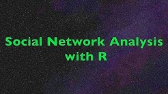 Social Network Analysis with R | Examples