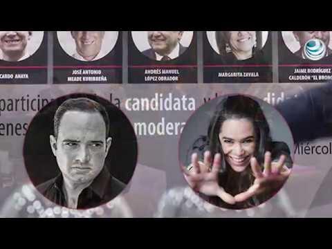 INE aprueba a Yuriria Sierra y León Krauze como moderadores para el segundo debate