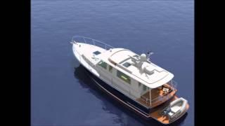 Lyman-Morse Hunt Design Monhegan 42 Extended Cruiser