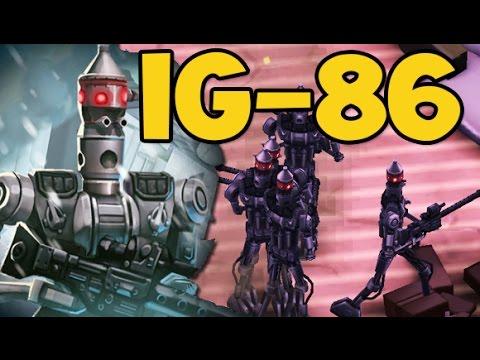 Star Wars Commander // IG-86 DEFENSE WREKER !!  - SWC Empire #178