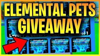 🔴 FREE NINJA LEGENDS ELEMENTAL PET GIVEAWAY & FREE LEGENDARY PET (ROBLOX LIVE)