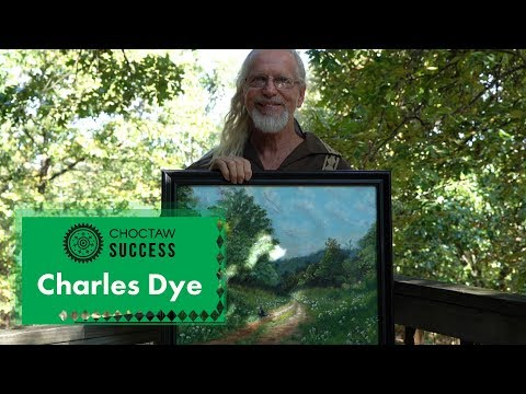 Choctaw Success: Charles Dye – Oil Painting