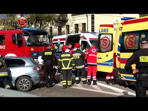 Kolizja aut w Suwałkach | Radio 5