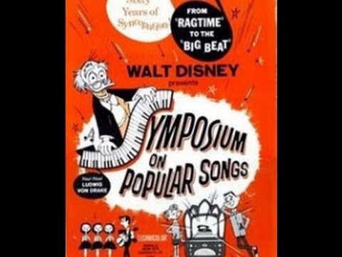 A SYMPOSIUM ON POPULAR SONGS