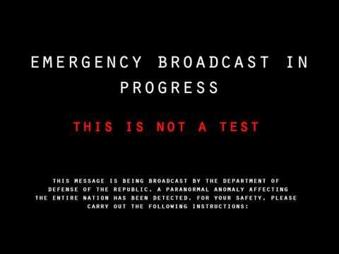Creepy EAS Broadcast #3 (100 Sub Special)