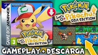 ¡POKEMON LETS GO GBA y MOVIL! | Hackrom | GAMEPLAY y REVIEW