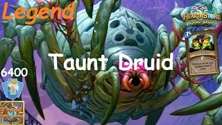 Hearthstone: Taunt Recruit Druid #1: Witchwood (Bosque das Bruxas) - Standard Constructed