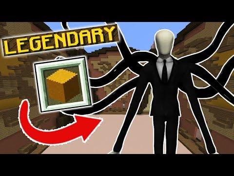 SLENDER?! (Minecraft Build Battle)