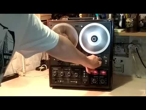Юпитер-203 магнитофон катушечный Reel Tape Reckorder Upiter-203