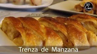 Pastel Trenza de MANZANA, sencillamente deliciosa | Apple Strudel