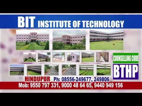 BIT IT Engineering College  Hindupur 2015