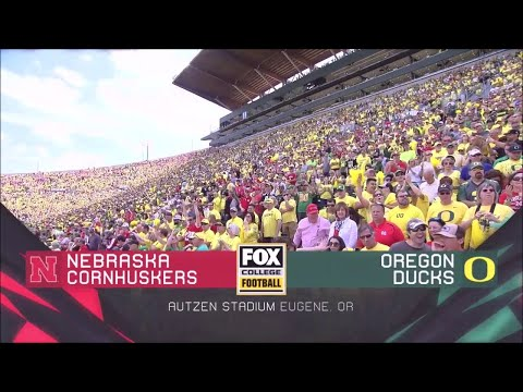 Nebraska @ Oregon 2017 Ducks Highlights HD