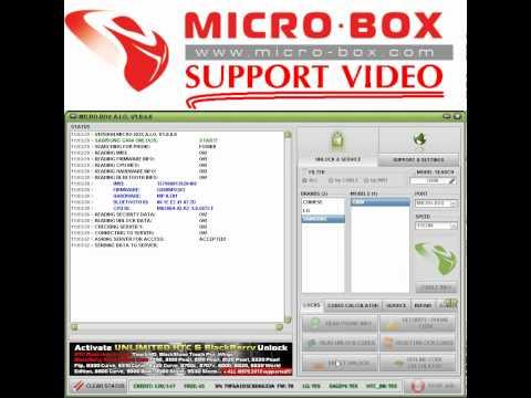 SAMSUNG G800 UNLOCK by MicroBox